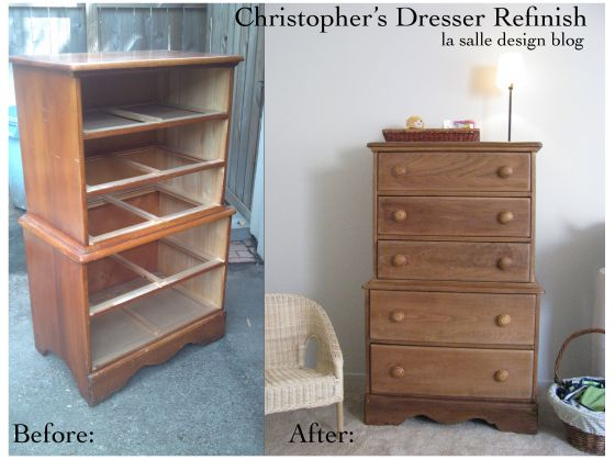 Christopher's Dresser Refinish