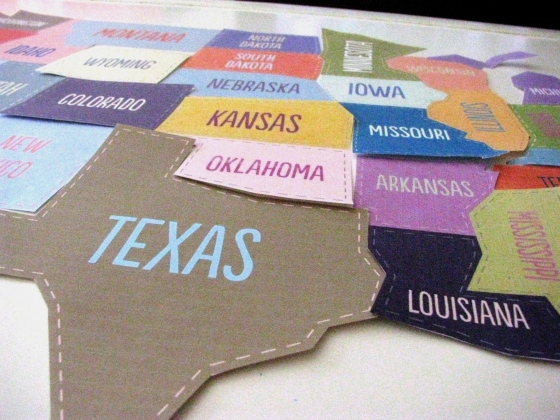 States all cut out