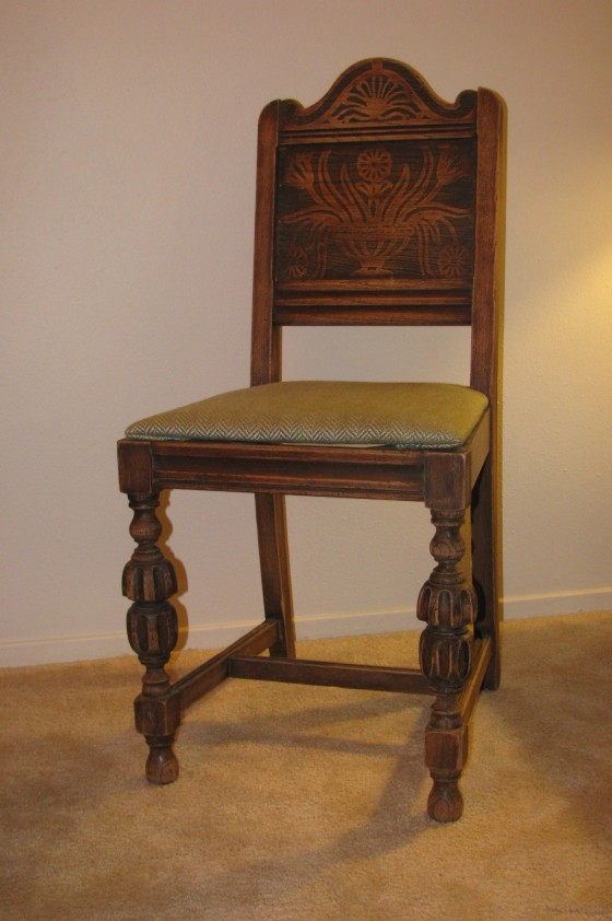 Reupholstery: Dining Chair Seats