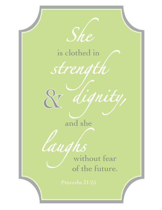 Proverbs 31 - Lime