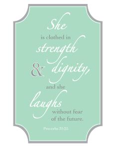 Proverbs 31 - Mint