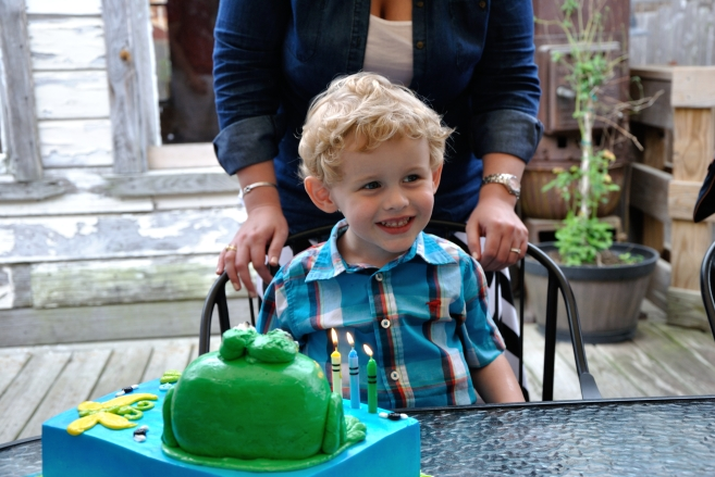 Happy 3rd Birthday, Christopher!