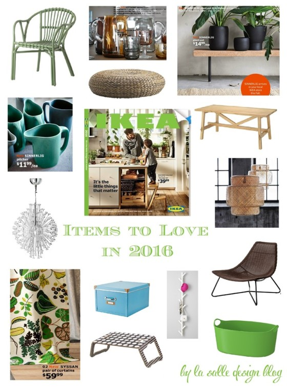 Ikea Items To Love In 2016 La Salle Design Blog